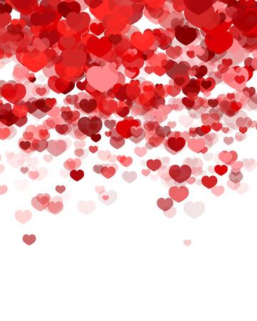 Valentijnsdag achtergrond Stock Illustratie