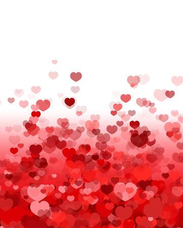 San Valentín Día de fondo Ilustración de vector