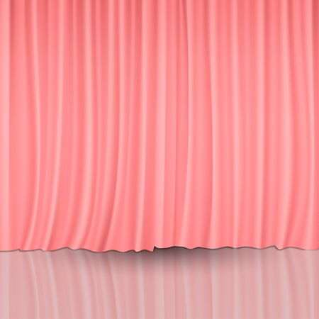 playhouse: Red Curtains