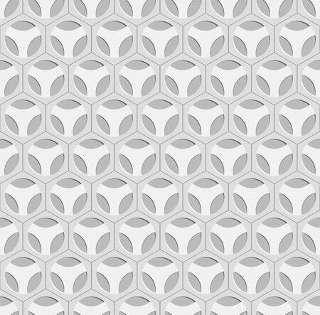 Seamless Gray Ornate Pattern Vector