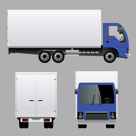 white van: Truck