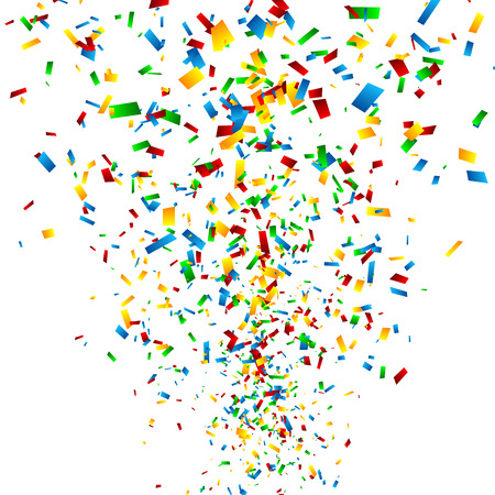 confetti: Abstract Happy Birthday Background