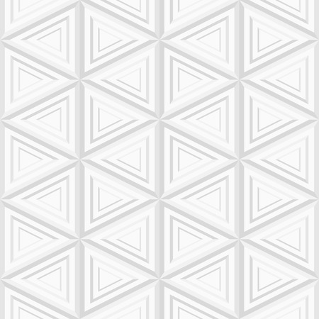 Seamless Ornate Triangular Pattern Vector