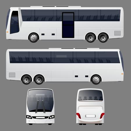 tour bus: Vector Bus
