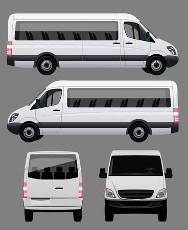 passenger buses: Blanca autobús