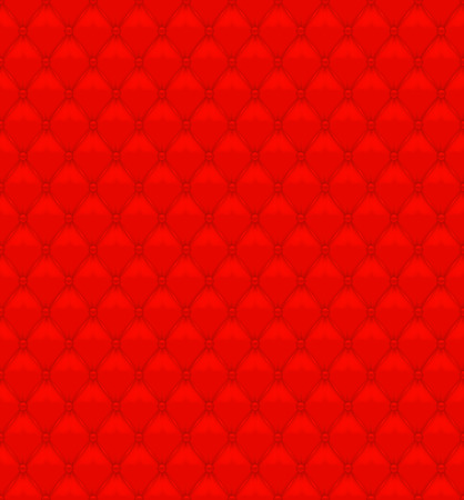 button tufted: Red Seamless Leather Texture