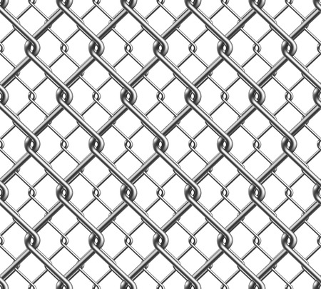chain fence: Chain Fence Seamless Pattern Illustration