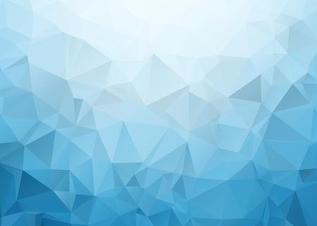 sencillo: Azul Triángulo de Textura