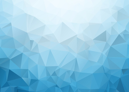 ornamental background: Blue Triangle Texture