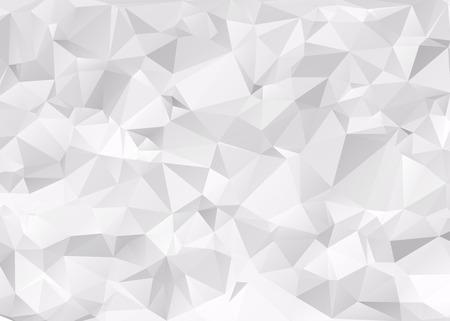 Gray Triangular Background Illustration