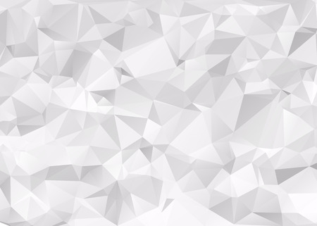 Gray Triangular Background Illustration