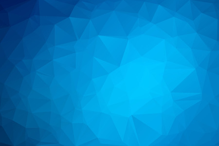 Blue Triangular Background Ilustracja