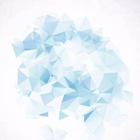 elemento: Blue Halftone Design Element