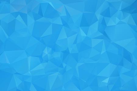 Blue Triangular Background  イラスト・ベクター素材