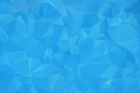 Blue Triangular Background Stock Illustratie