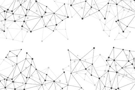 Polygonal Mesh Backgroun Illustration