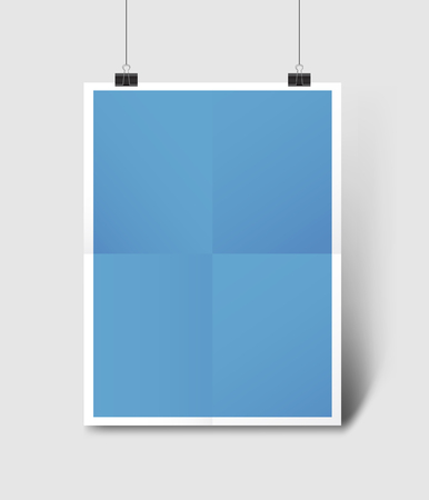 Poster Mockup Illustration