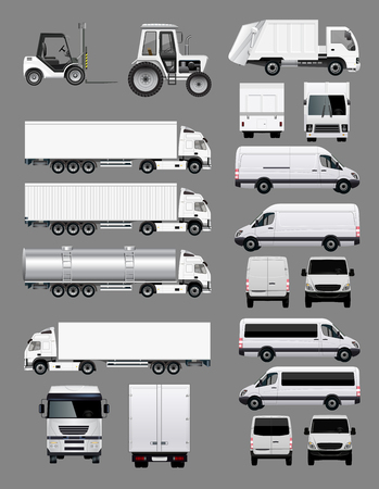 commercials: Set of Transportation Vehicles 2