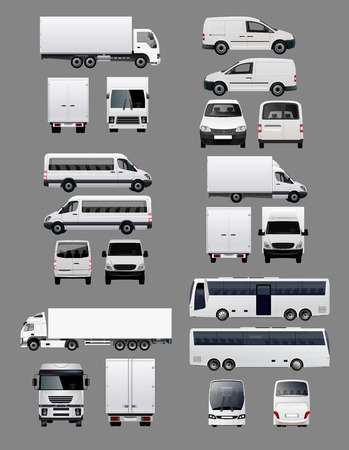 Set of Transportation Vehicles 1 Stock Vector - 45873489
