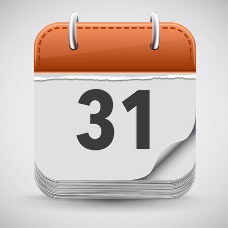 calendar isolated: Calendar Icon