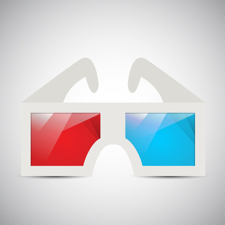 3d: 3d Glasses Illustration