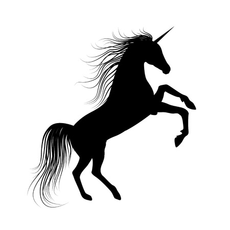mane: Unicorn Silhouette