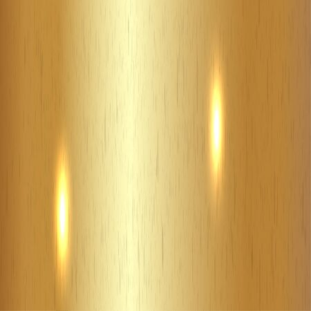 brushed: Brushed Gold Background Illustration