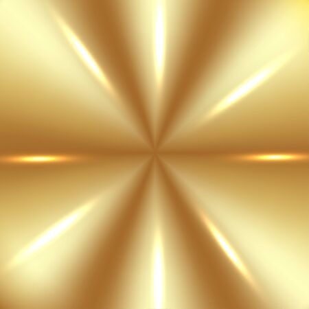 shine background: Golden Background with Lights Illustration
