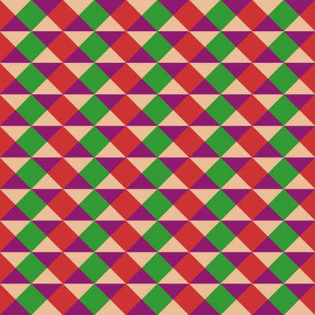 triangular: Abstract Seamless Triangular Vintage Pattern Illustration