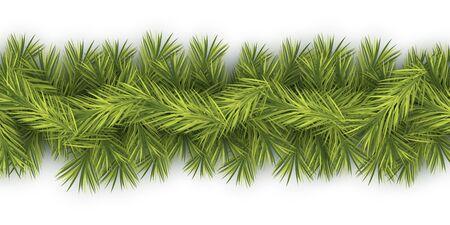 tree branch: Fir Tree Branch ribbon