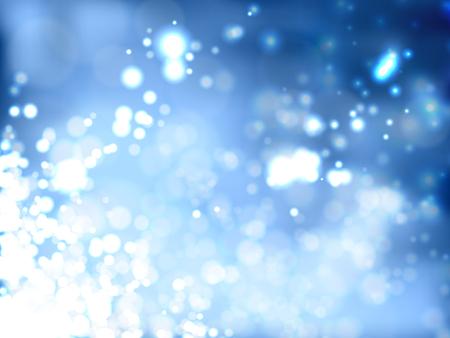 Bright Blue Background Illustration