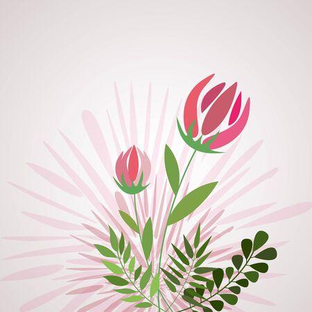 Abstract Blumen