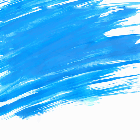 gouache: Blue Gouache Background