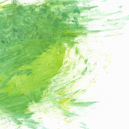 gouache: Green Gouache Paint