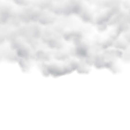 white background: White Clouds on White Background
