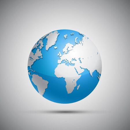 shiny: Shiny Earth Globe