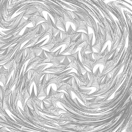 abstract art: Abstract Line Art Illustration