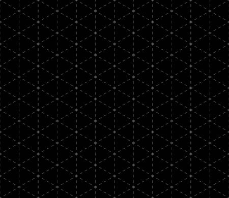 dashed: Geometric Black Dashed Background