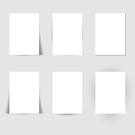rectangle: Set of Paper Shadows