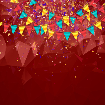 Antecedentes festivo colorido Foto de archivo - 60618781