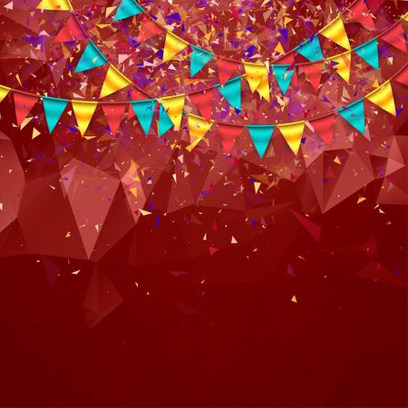 Kleurrijke Feestelijke Achtergrond