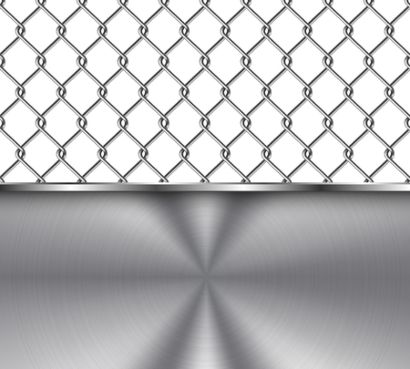 chainlink: Metal Background