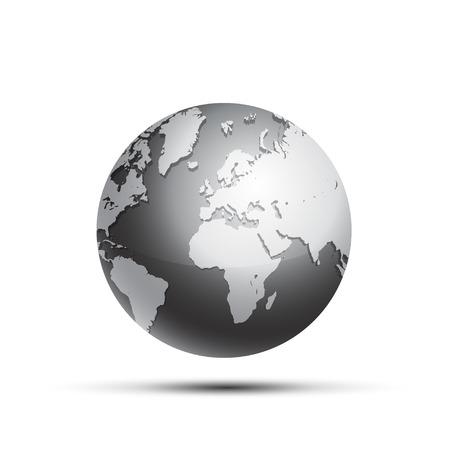 globe terrestre: Globe terrestre Illustration