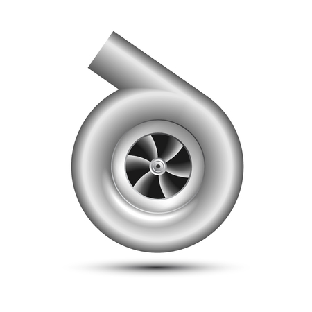 charger: Turbocharger Icon Illustration