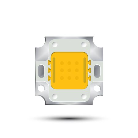 led: Led Chip Illustration