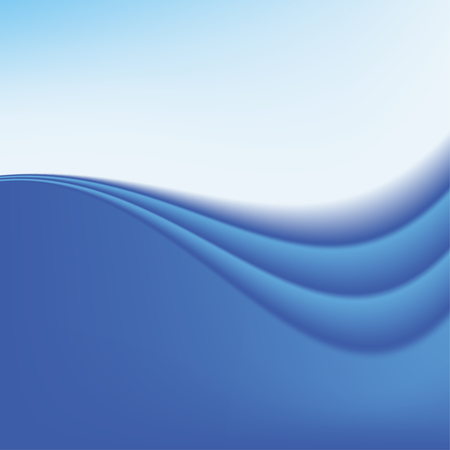 curve: A Smooth Blue Wave Background on a plain background.