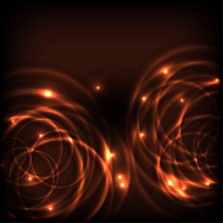 round: Glowing Circles
