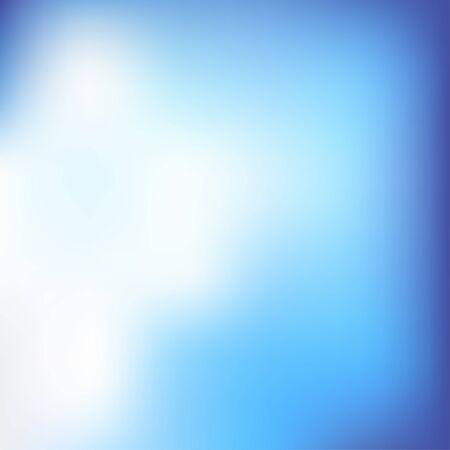 bright: Soft Blue Background