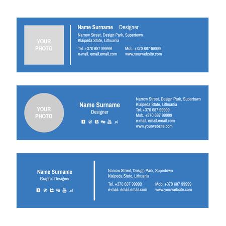 Email Signature Design Templates