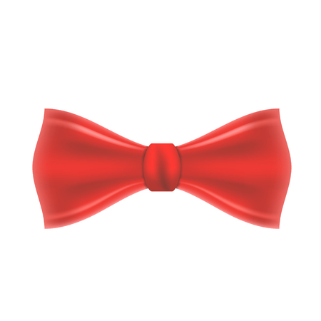 Red Vector Bow